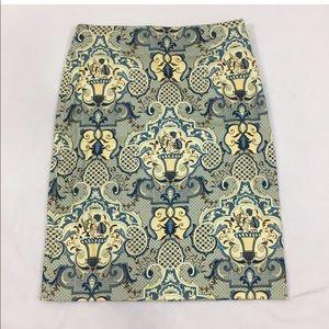 Talbots Stretch Pencil Skirt